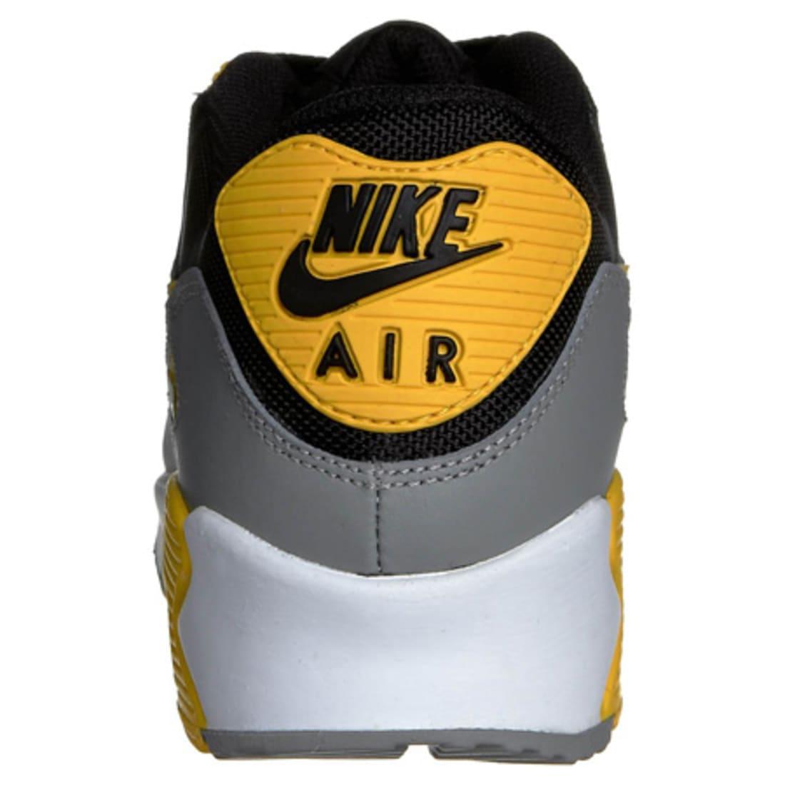 OLD N - Baskets Nike Air Max 90 Noir Gris Jaune ...