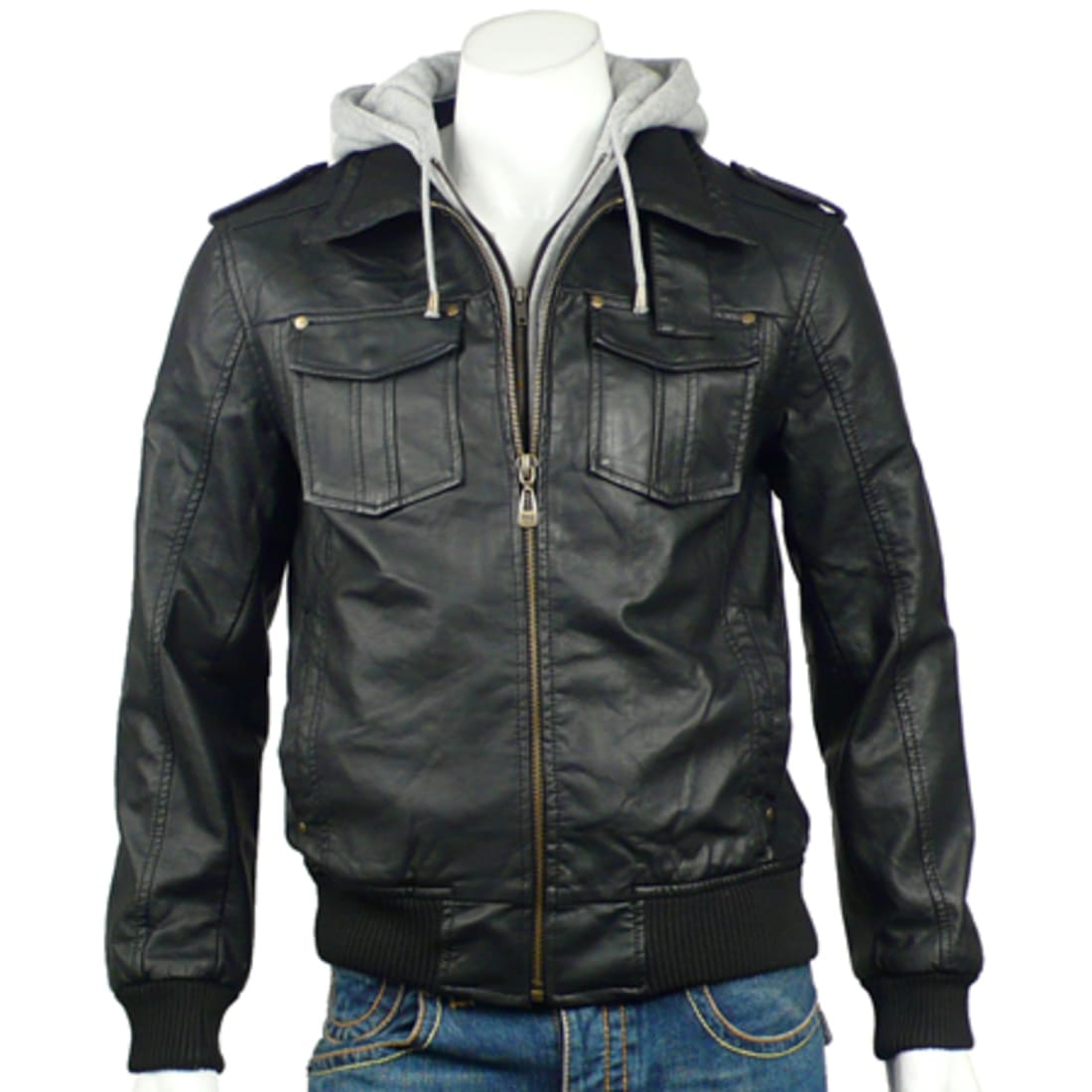 Gangster Unit Blouson Simili Cuir Gangster Unit Adonis