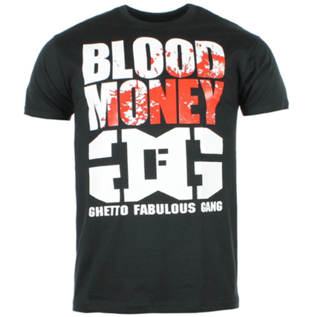 Ghetto Fabulous Gang Tee Shirt Ghetto Fabulous Gang Blood