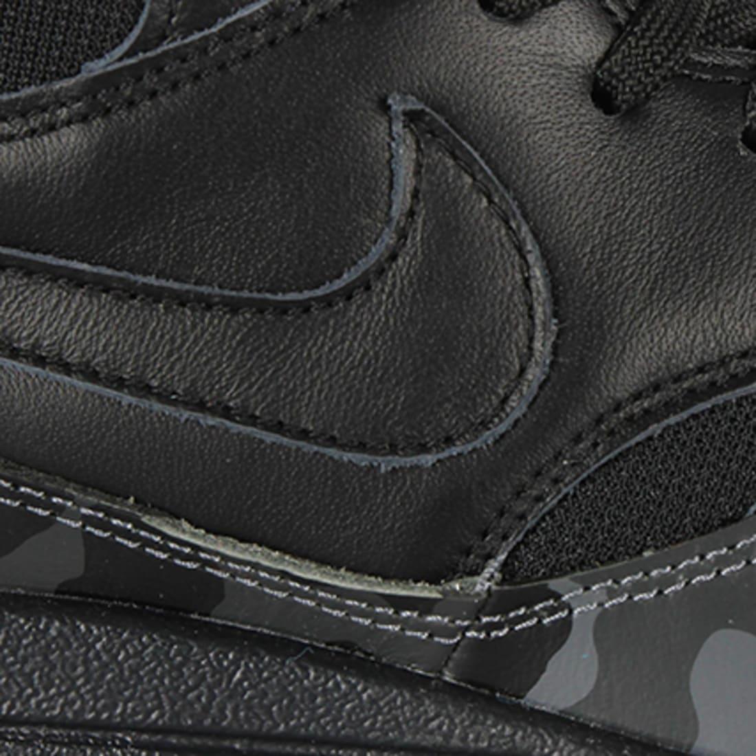 Nike Baskets Nike Air Max 1 Mid FB 001 Black Black Cool