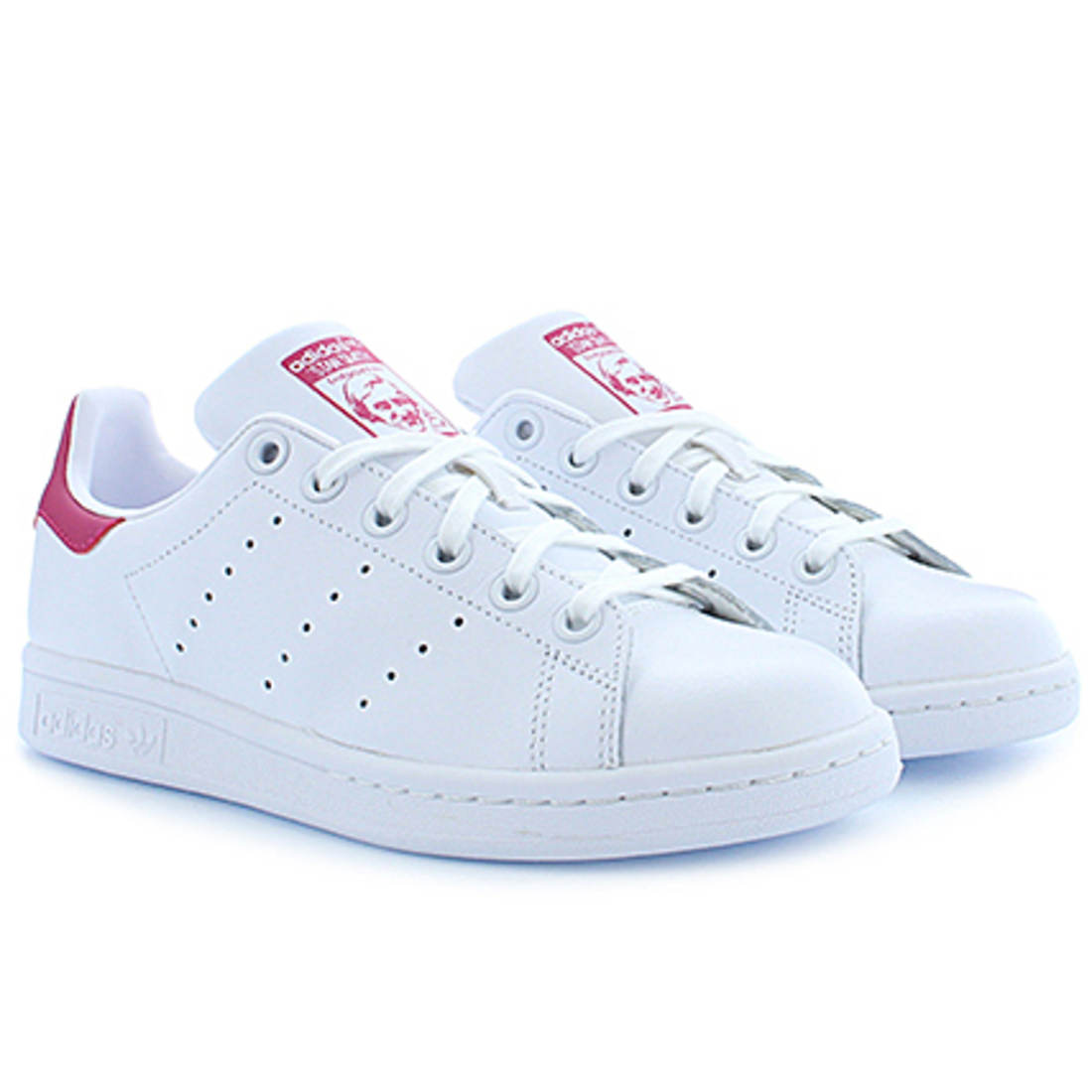 adidas Baskets Femme Stan Smith B32703 Footwear White Bold