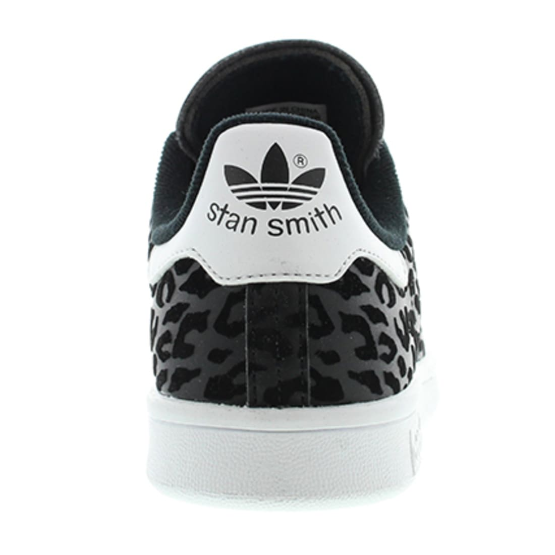 adidas Baskets Femme adidas Stan Smith Noir Léopard