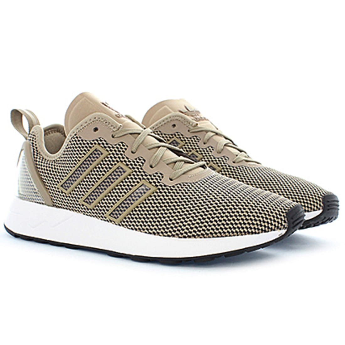 adidas Baskets ZX Flux Adv Carbone Noir Or