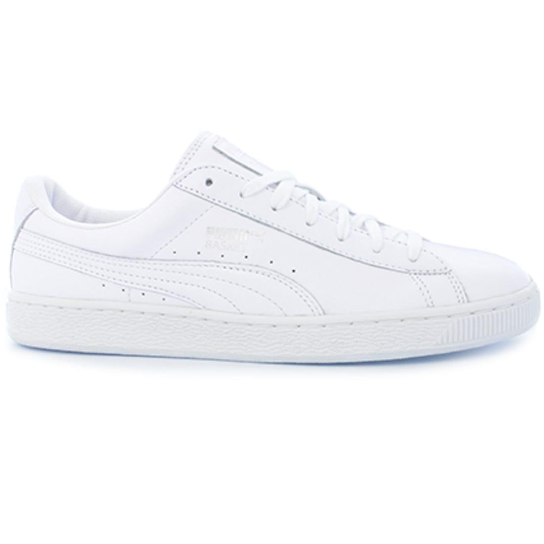 Puma Baskets Classic LFS Mono 362202 01 White Puma Silver