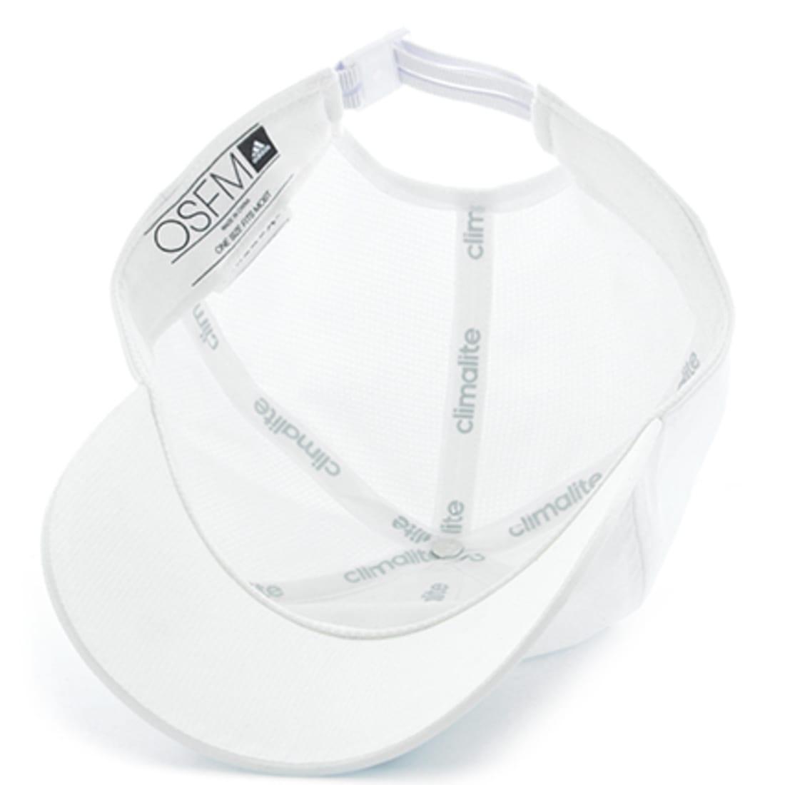 adidas Casquette 3 Stripes Climalite S97596 Blanc Noir