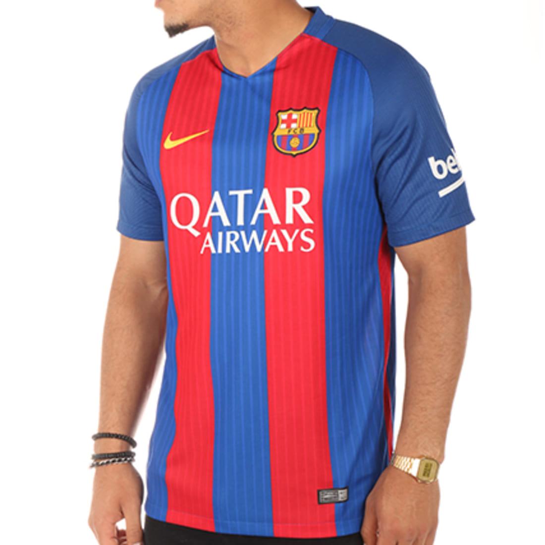 Mensurable Drama 945  Nike - Maillot De Football FC Barcelona 776850 415 Bleu Roi Rouge -  LaBoutiqueOfficielle.com