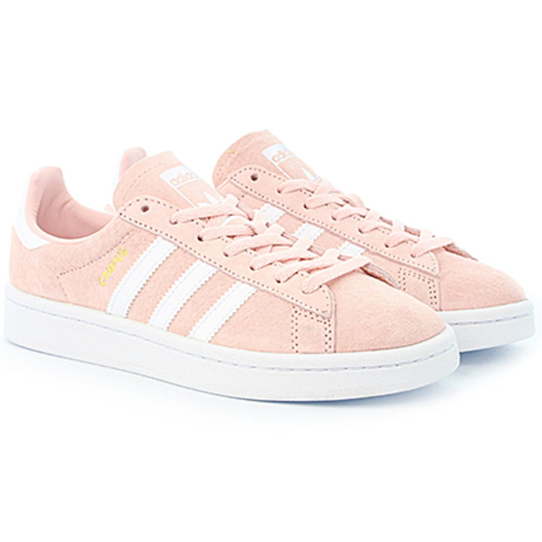 adidas Baskets Femme Campus BY9845 Icey Pink Footwear