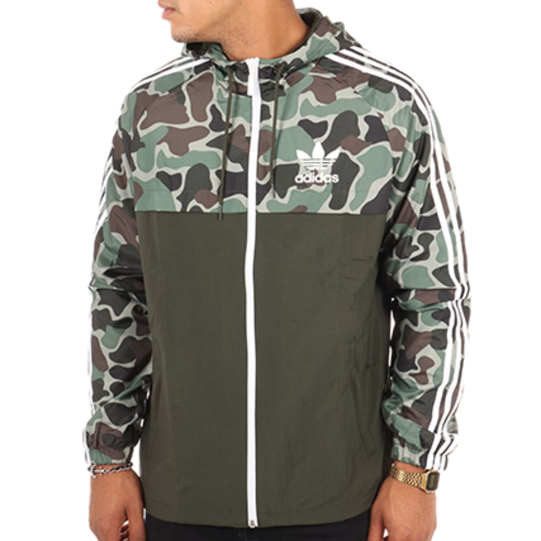 sweat adidas militaire