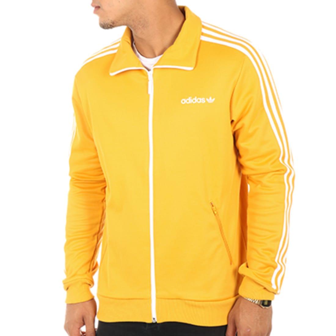 veste adidas homme jaune beckenbauer