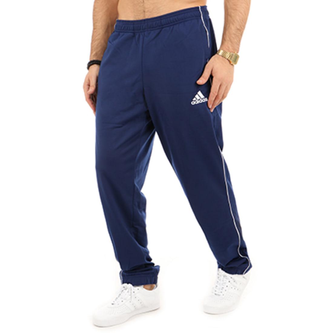 adidas Pantalon Jogging Core 18 PES CV3585 Bleu Marine