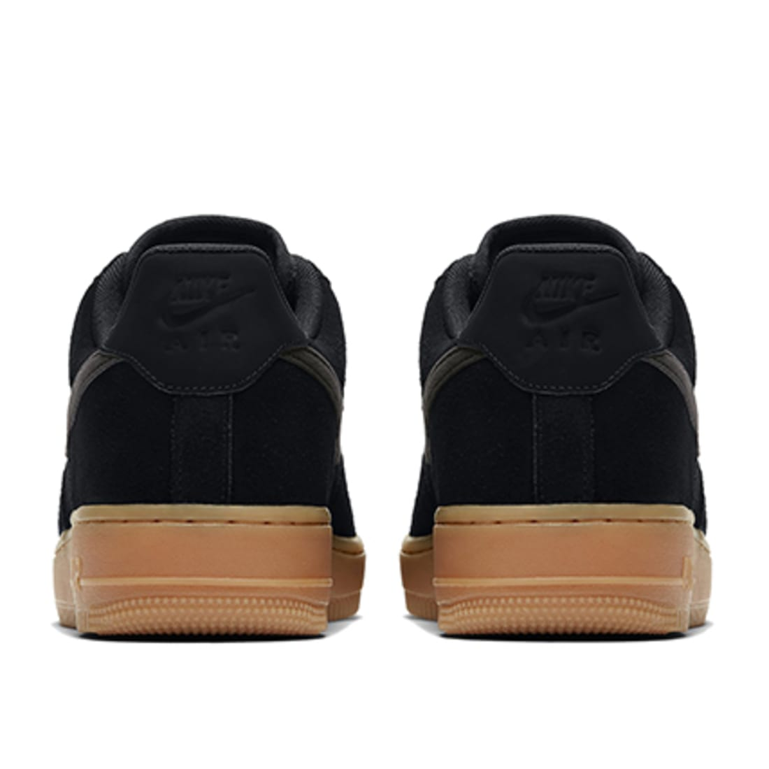 Nike Baskets Air Force 1 07 LV8 Suede AA1117 001 Black Gum