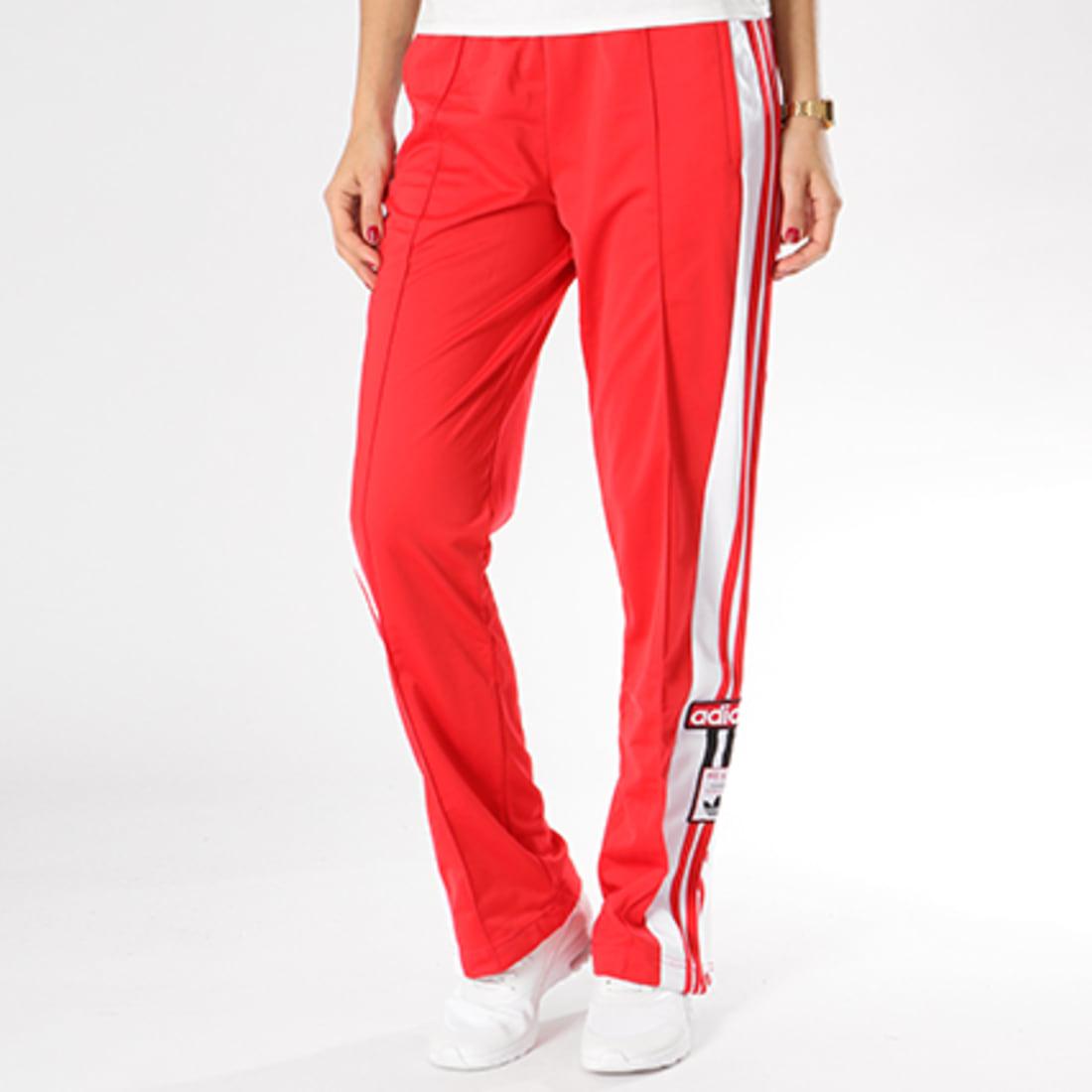 jogging femme adidas rouge