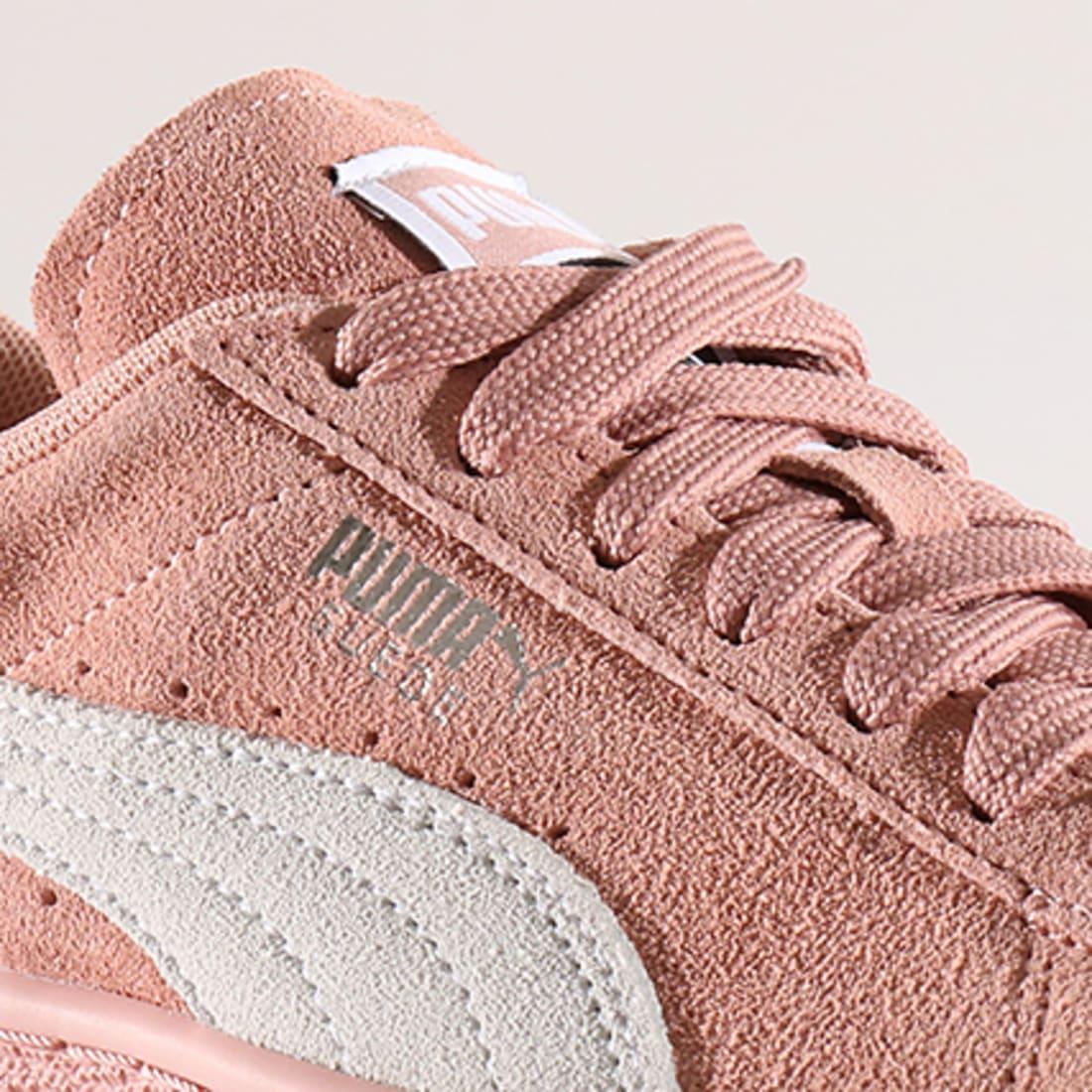 Puma Baskets Femme Suede Classic 355462 67 Peach Beige