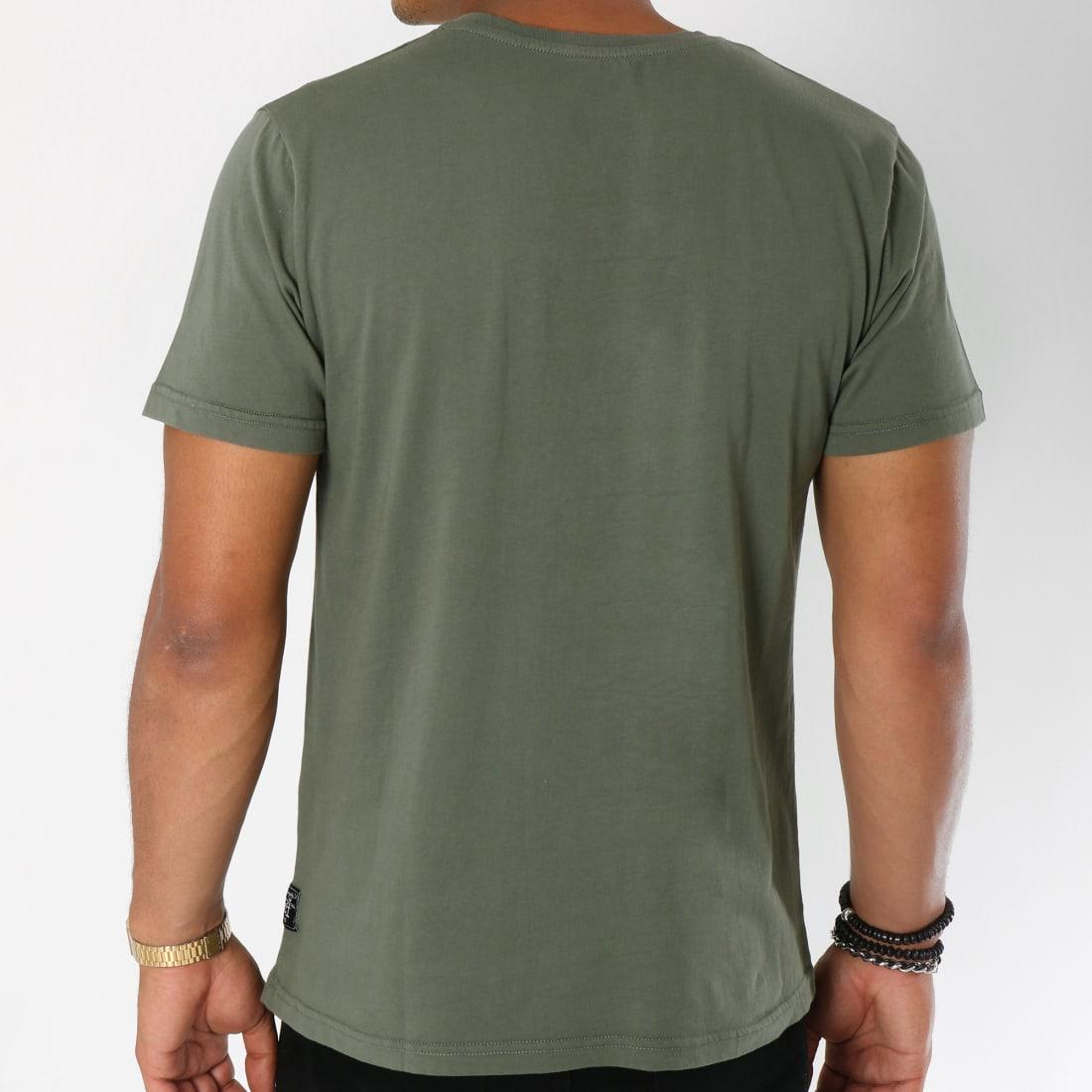 Ed Hardy Tee Shirt Hard Vert Kaki