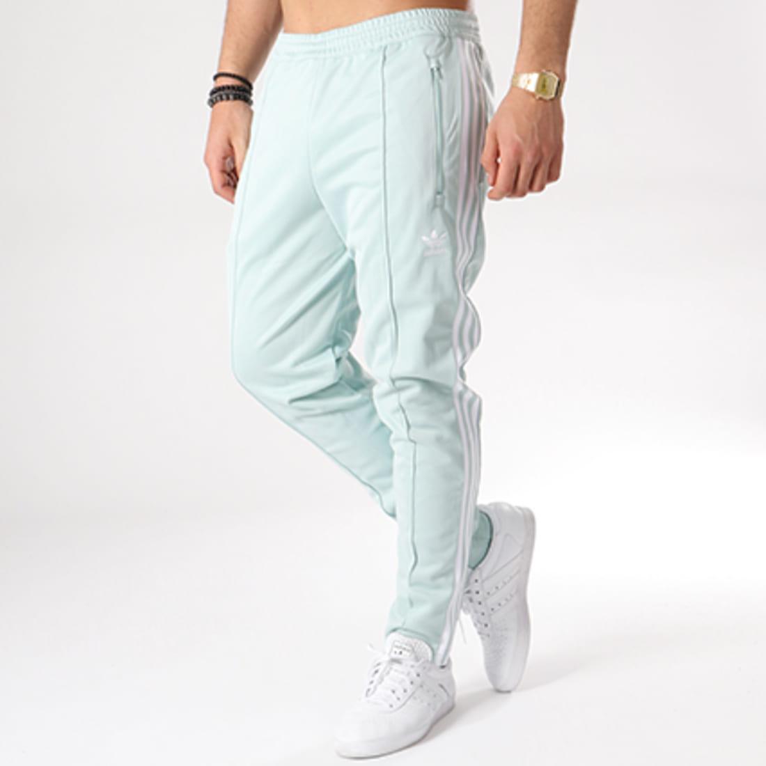 adidas Pantalon Jogging Bandes Beckenbauer CW1272 Vert