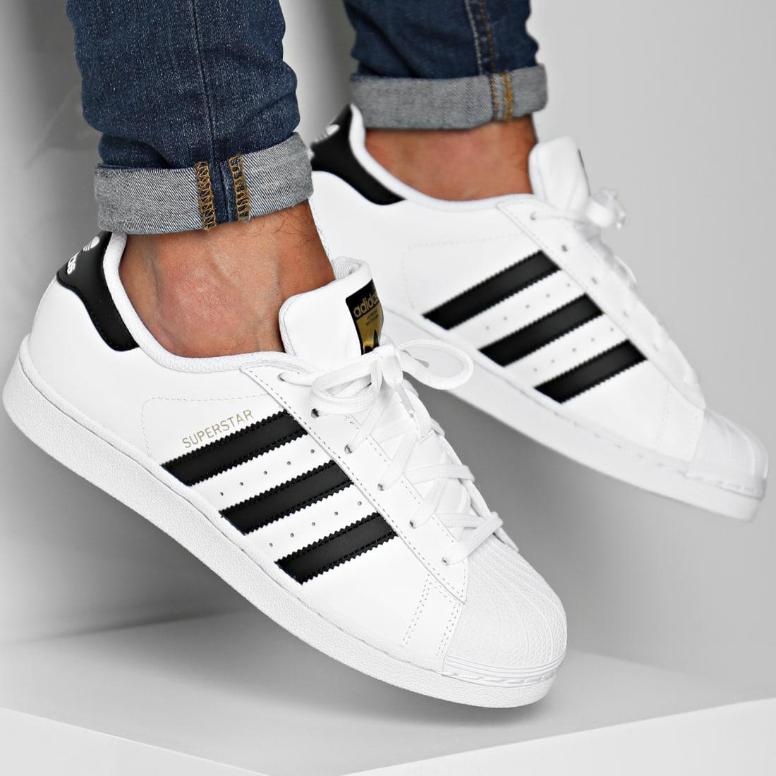 adidas Baskets Superstar C77124 Footwear White Core Black