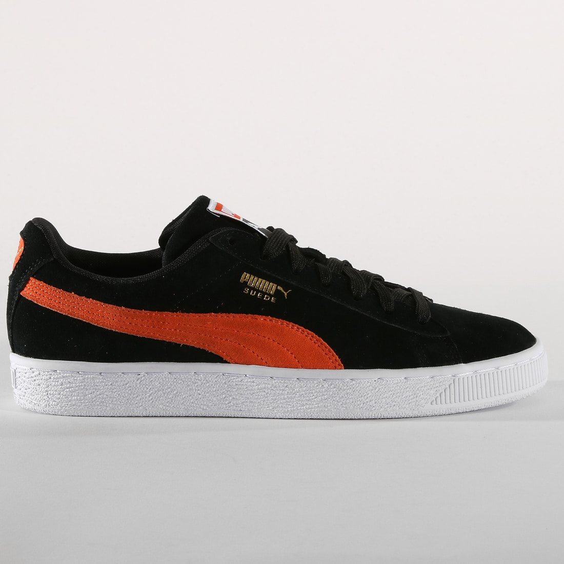 Puma Baskets Suede Classic 365347 Black Firecracker White