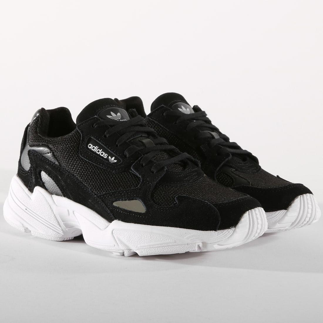 adidas Baskets Falcon B28129 Core Black Footwear White