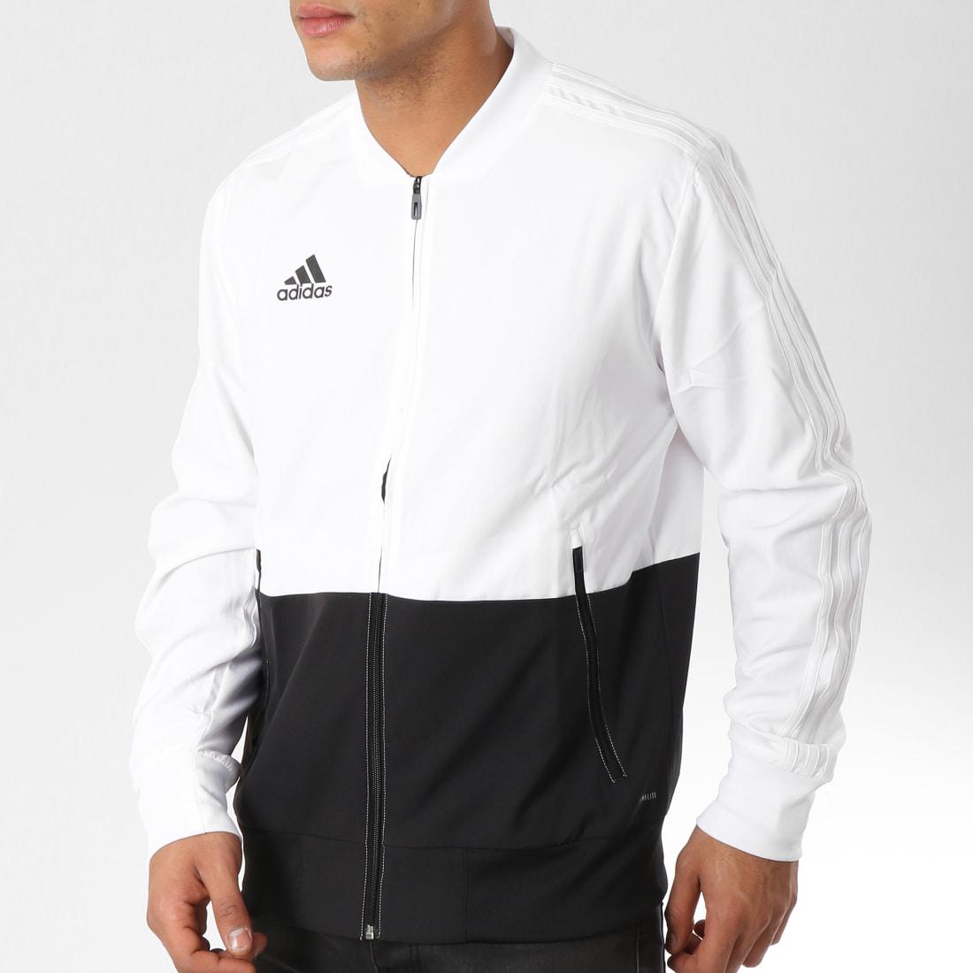 Veste Longue Noire Con18 Adidas