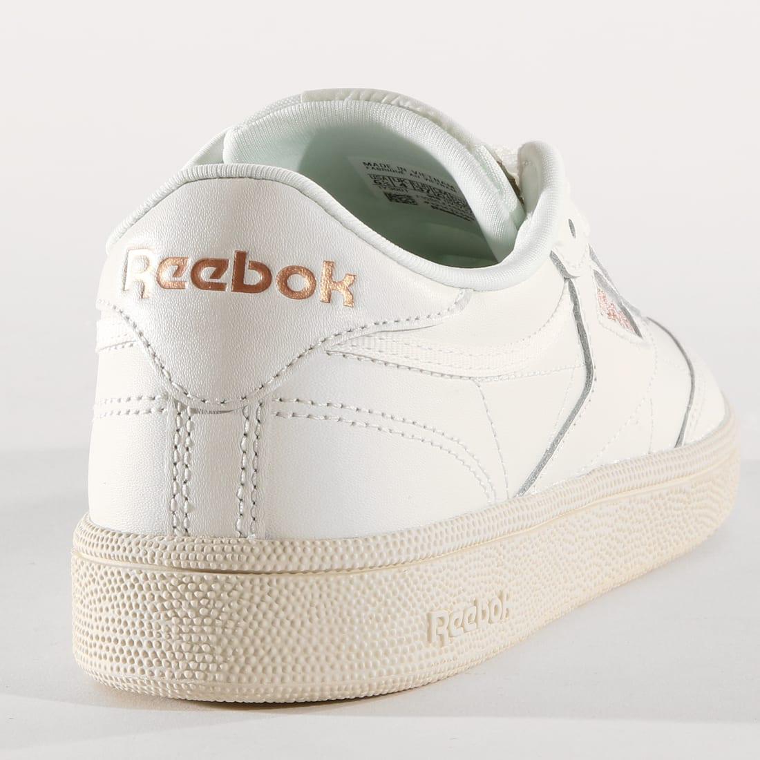 Reebok Baskets Femme Club C 85 DV3727 Chalk Rose Gold