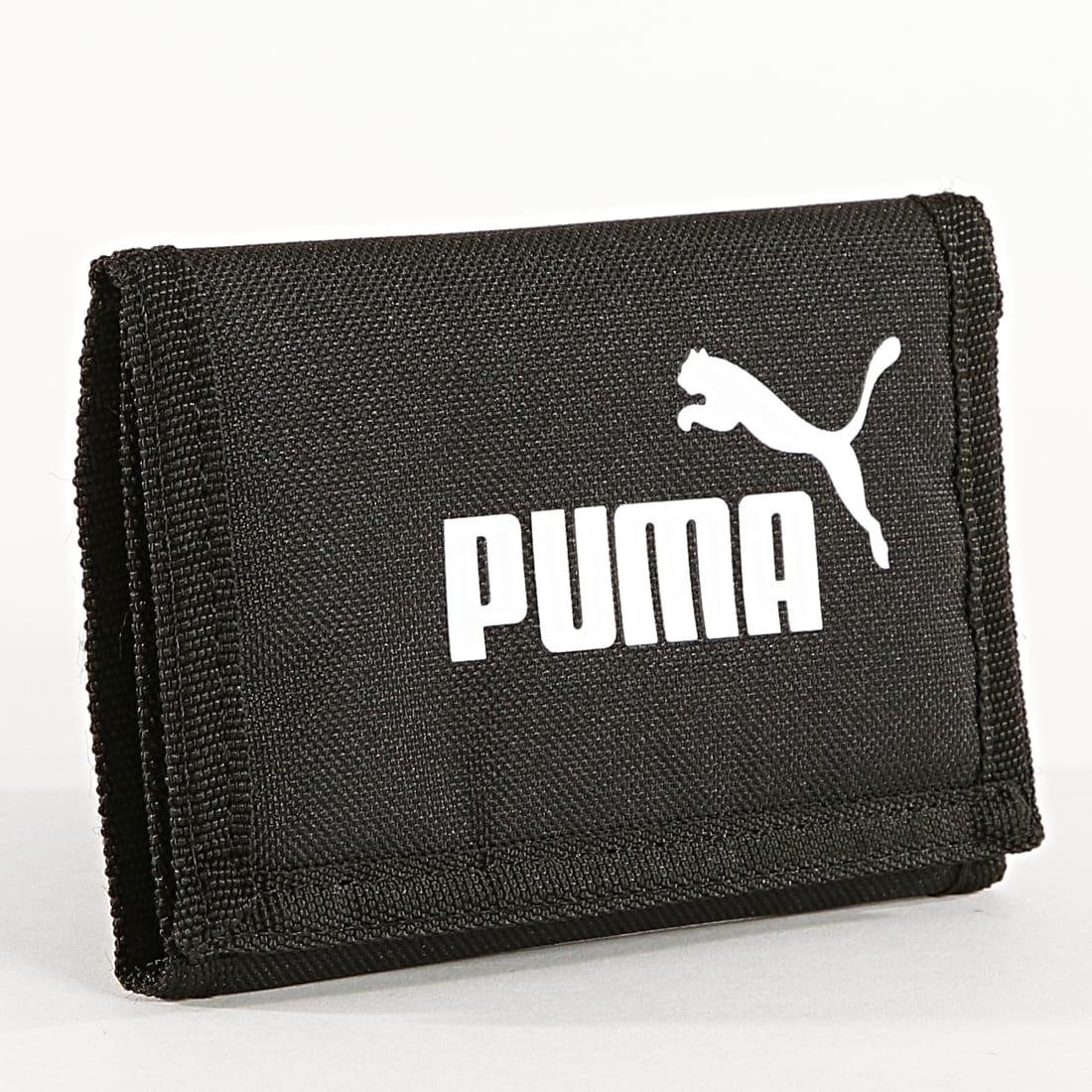 Puma - Portefeuille Phase 075617 Noir - LaBoutiqueOfficielle.com