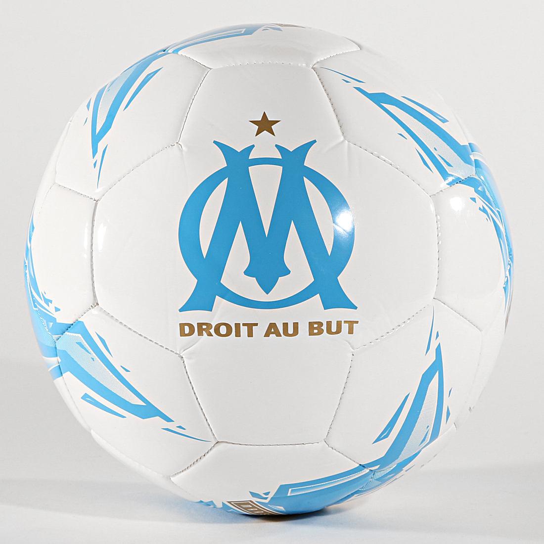 Puma - Ballon Olympique De Marseille Fan 083058 Blanc Bleu Clair ...