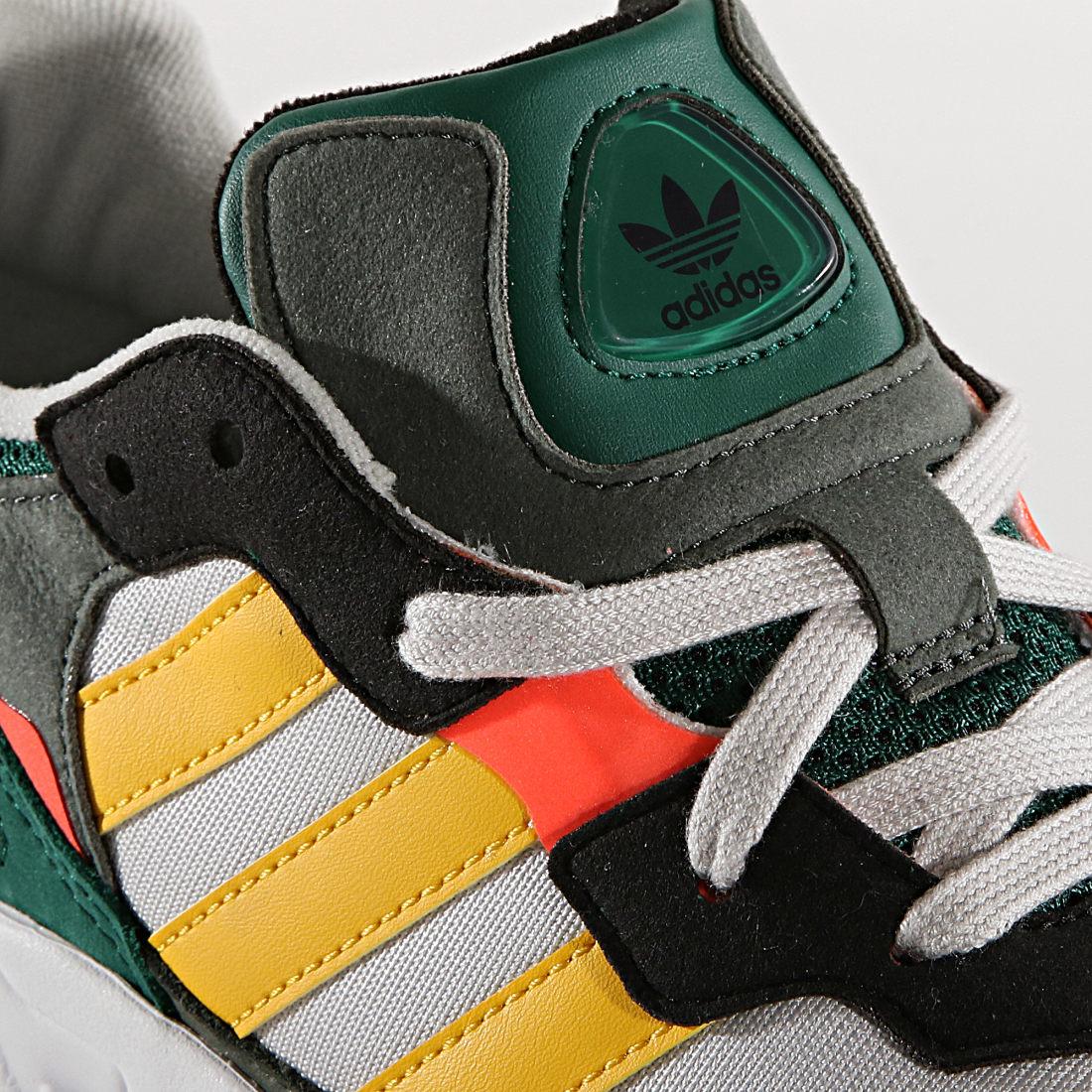 adidas - Baskets Yung-96 DB2605 Grey One Bold Gols Solar Red ...