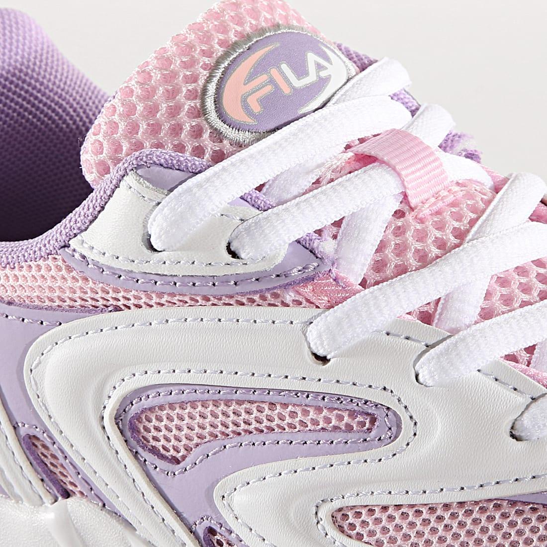 Fila Baskets Femme Fila Buzzard 5RM00627 Chalk Pink White