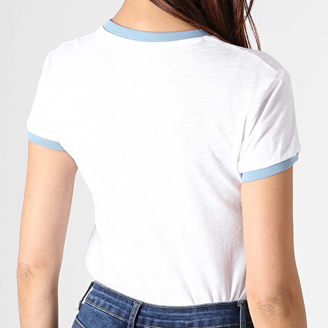 Pepe Jeans - Tee Shirt Femme Alex Blanc ...
