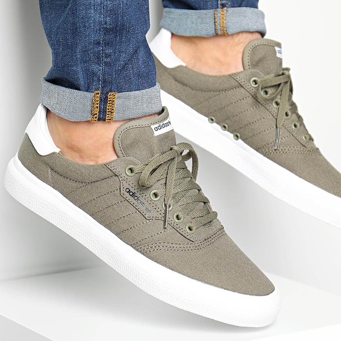 adidas Baskets 3MC Vulc DB3141 Raw Khaki Footwear White