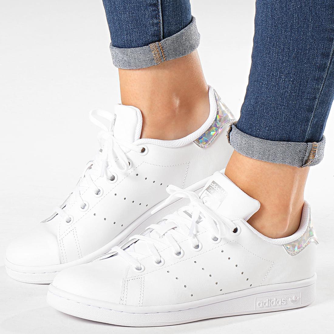 Adidas Originals - Baskets Femme Stan Smith EE8483 Footwear White ...