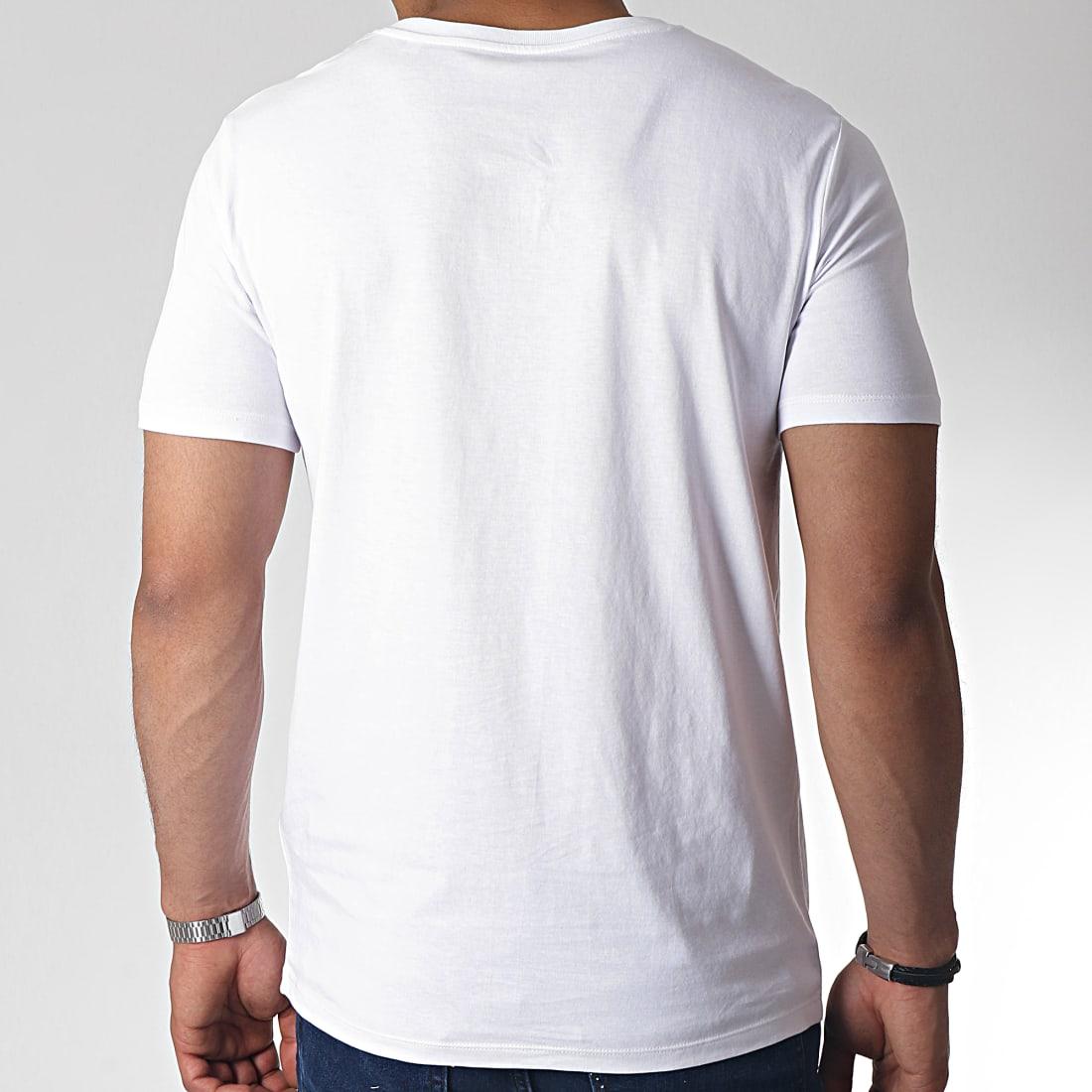 NASA Tee Shirt Iridescent USA Blanc