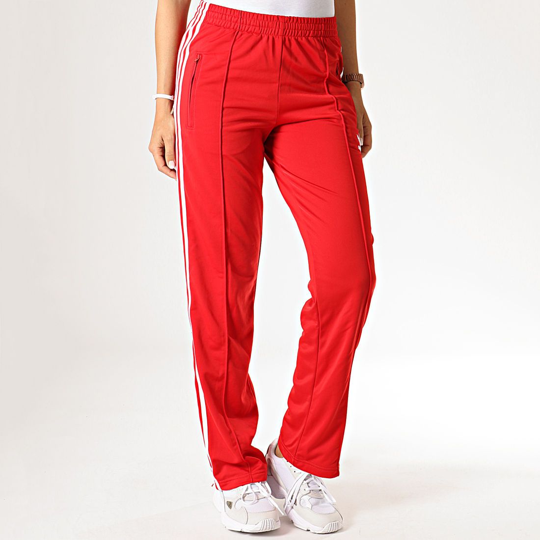 adidas jogging femme rouge