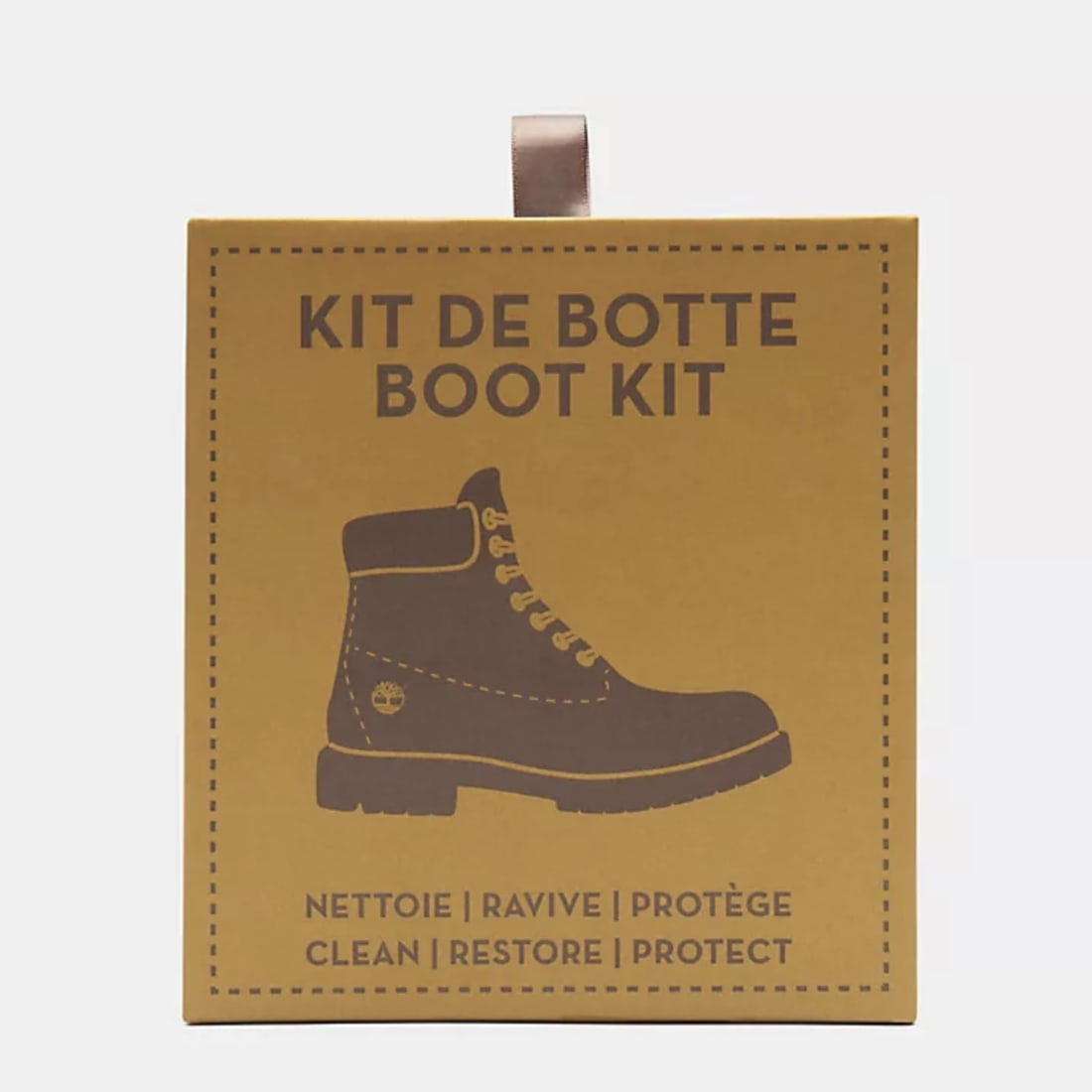 kit nettoyant chaussure timberland