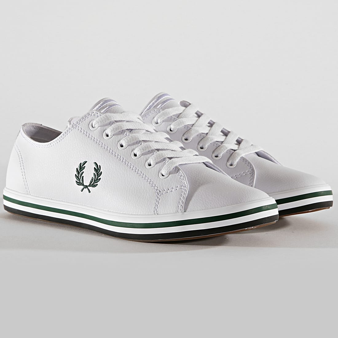 Purchasefred perry kingston leather blanc Up to 77 OFF