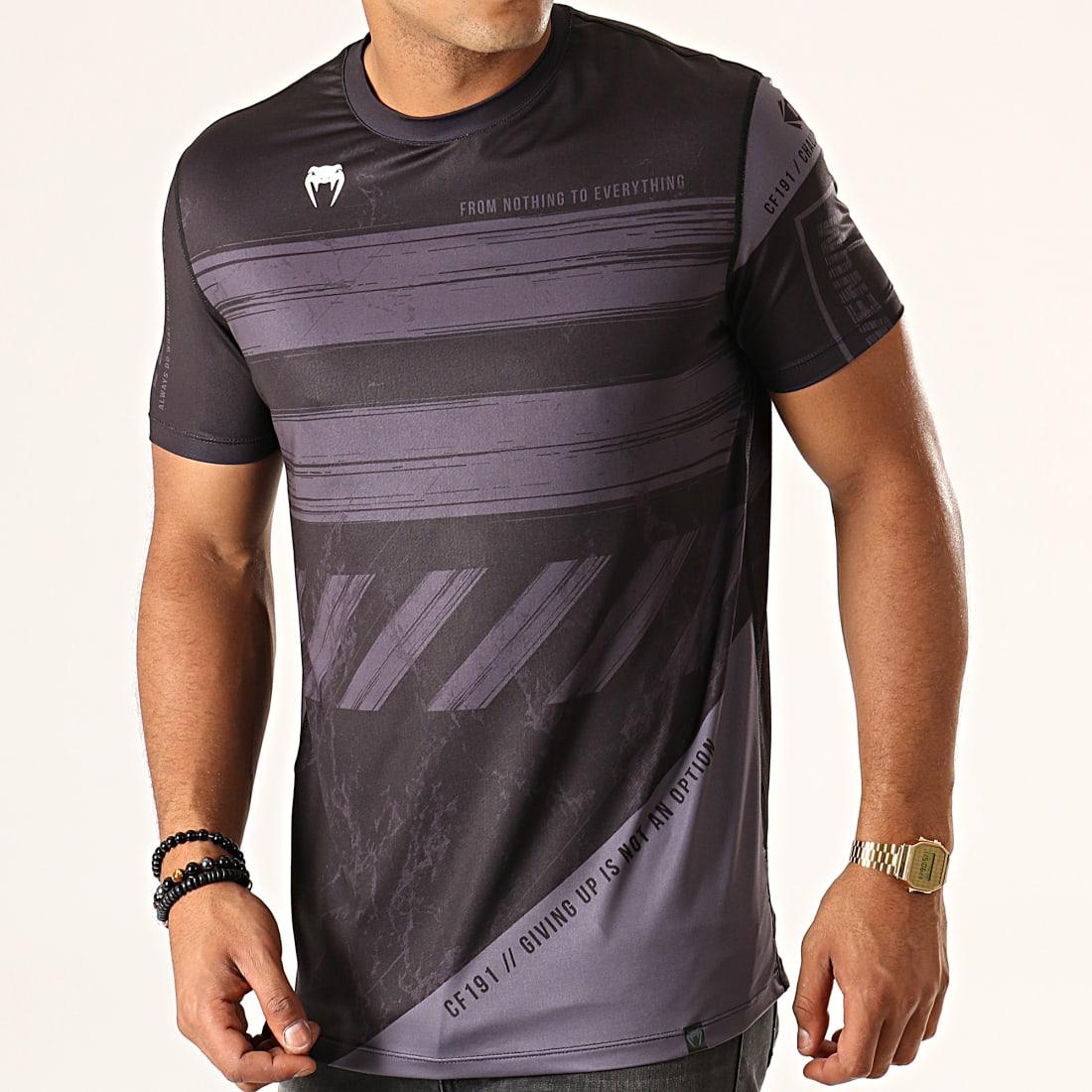 Tee shirt manches courtes Venum Classic noir mc tee Noir 28306 Neuf