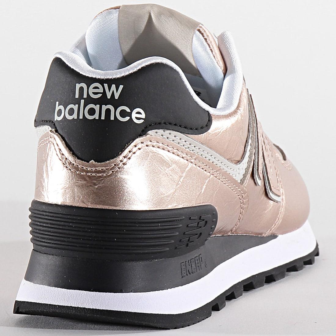 basket femme rose new balance