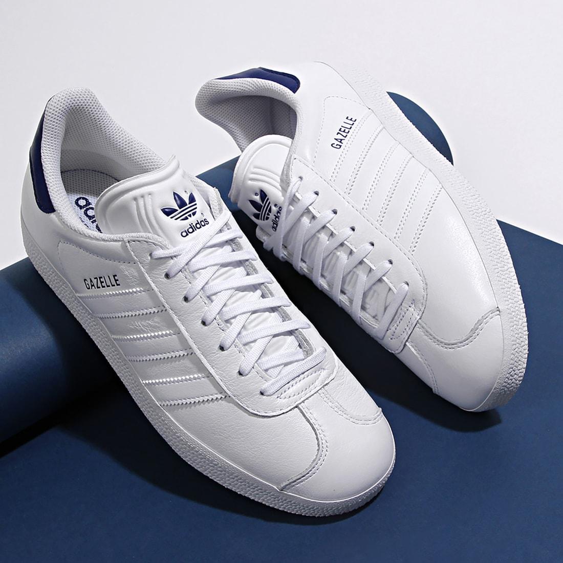 adidas Baskets Gazelle FU9487 Footwear White DArk Blue