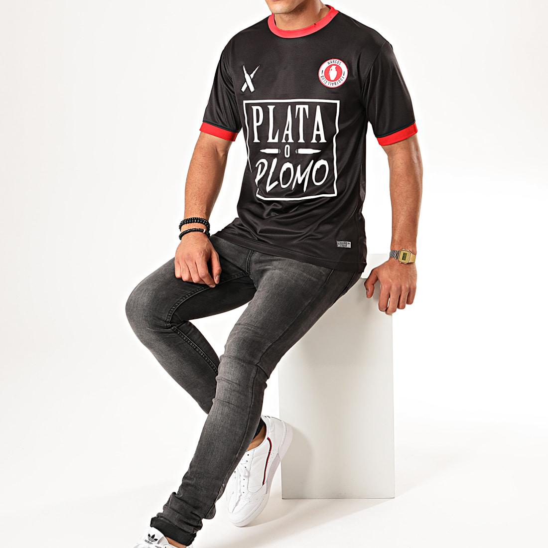 Lacrim Tee Shirt De Sport Plata o Plomo Tunisie Edition