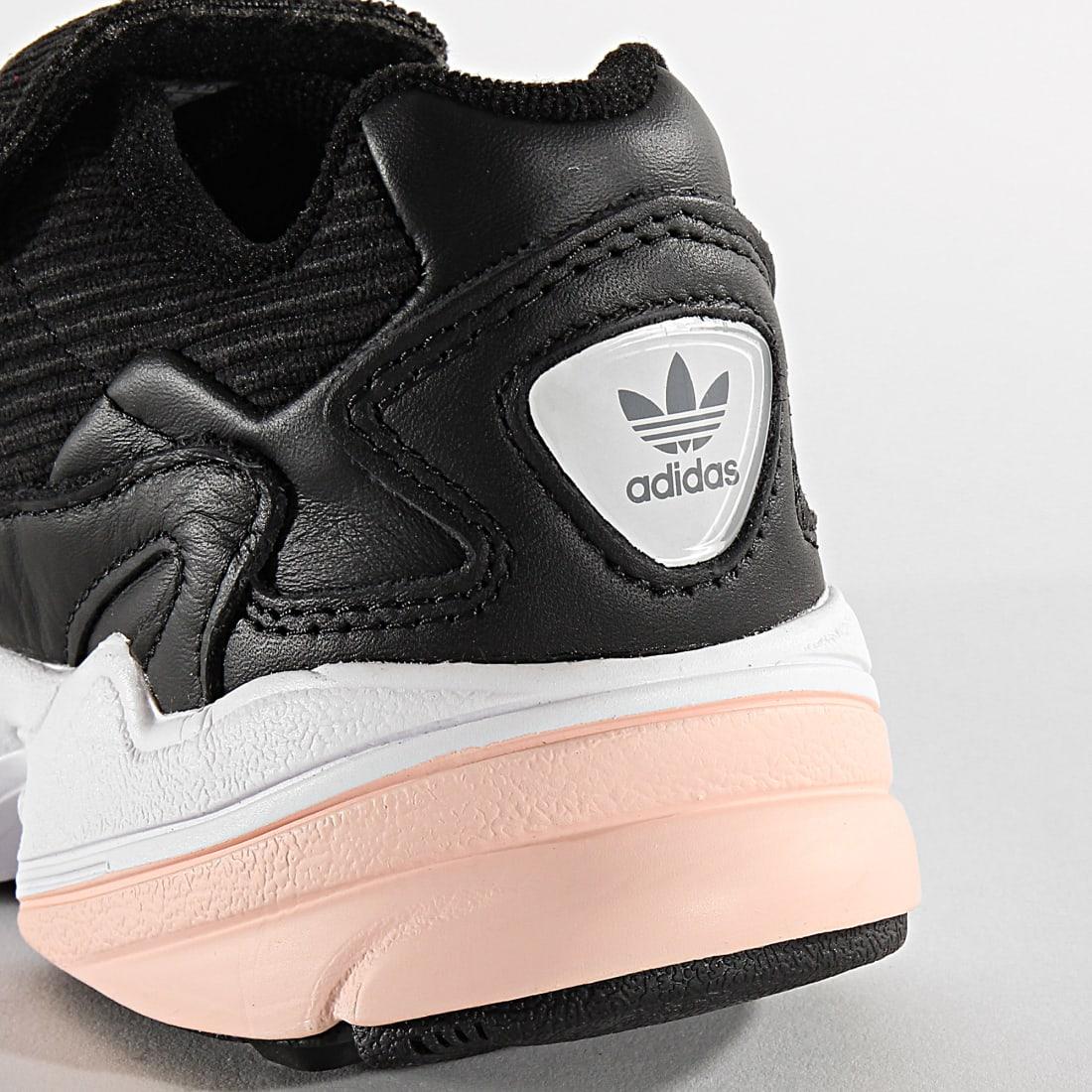 adidas Baskets Femme Falcon RX EE5112 Core Black Glow Pink