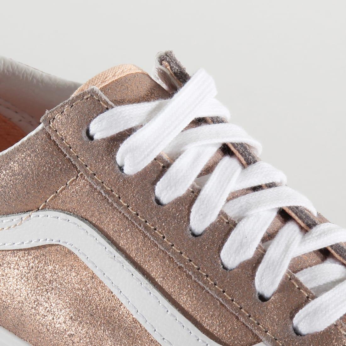 Vans - Baskets Femme Old Skool BV5T61 Rose Gold ...