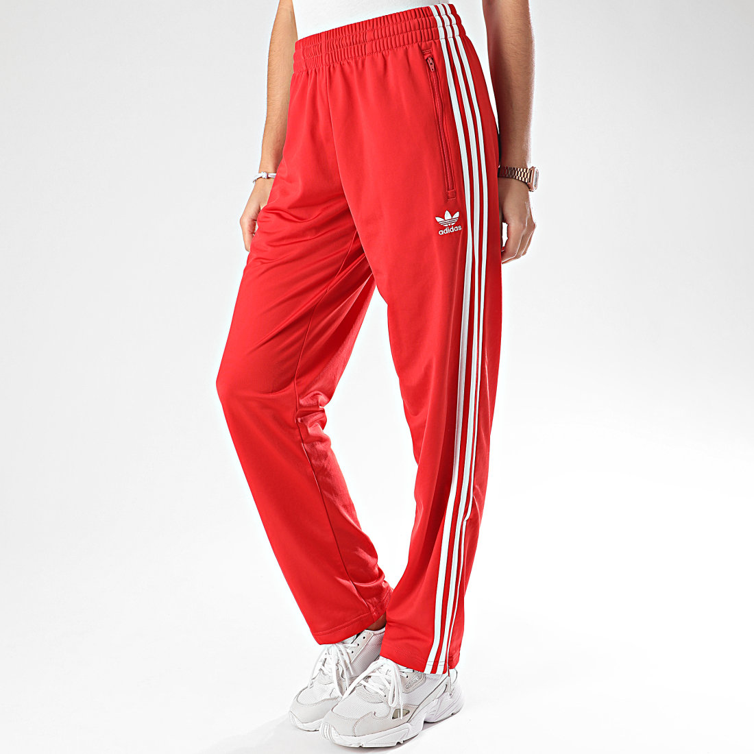 adidas jogging homme rouge
