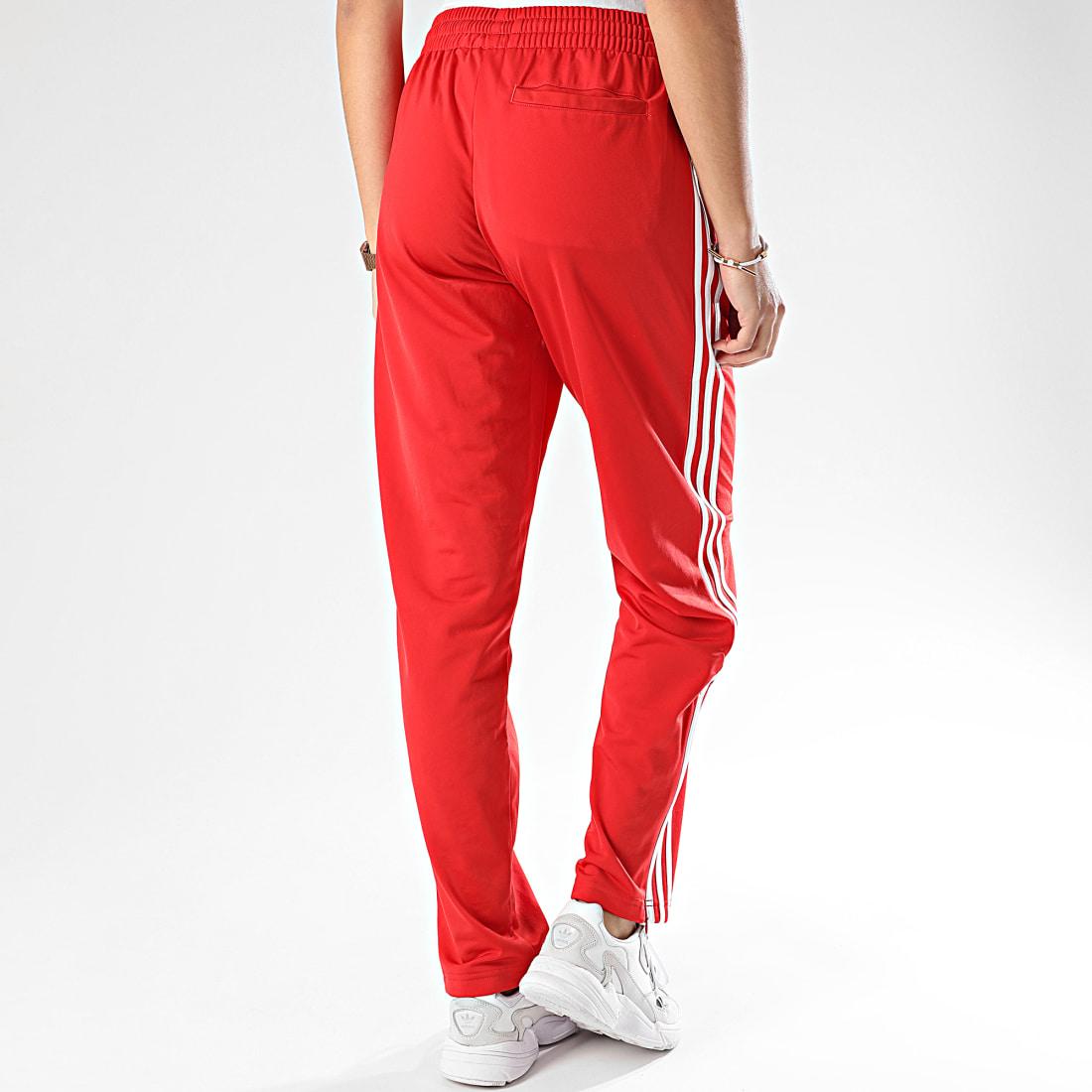 jogging rouge femme adidas