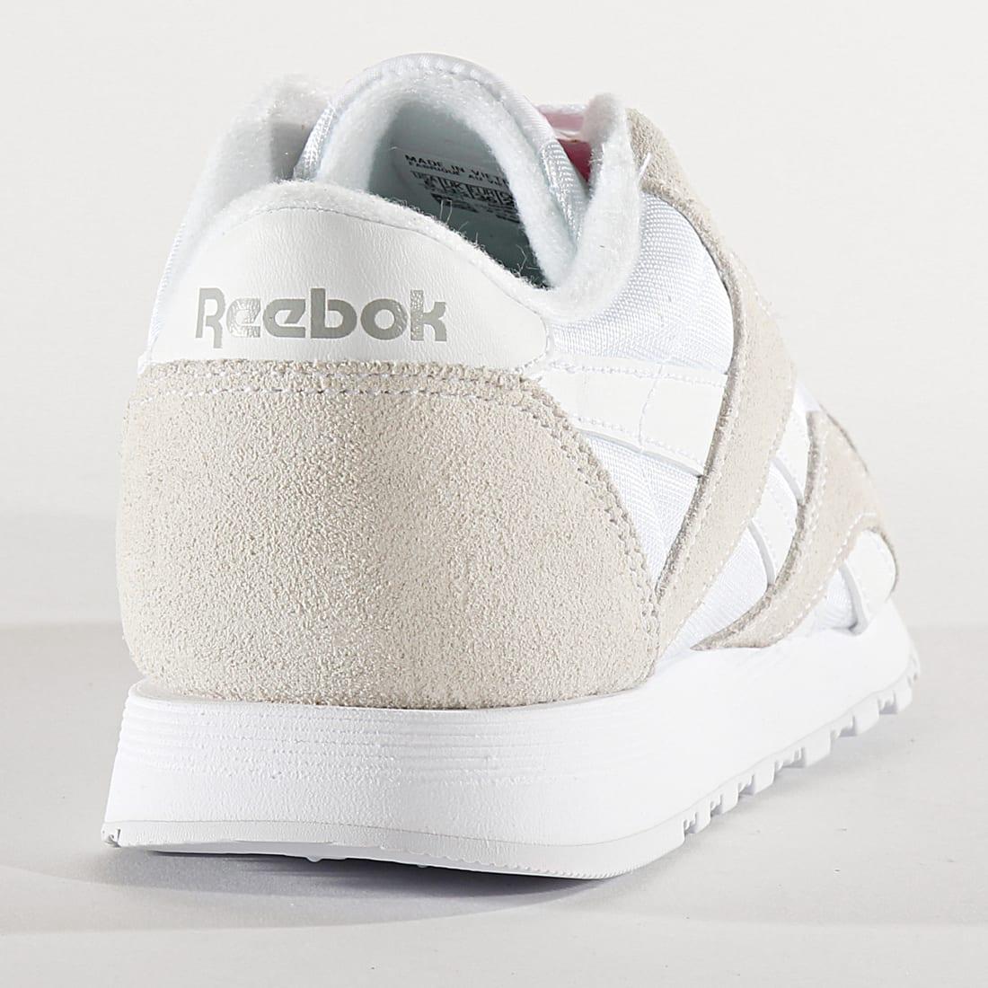 Reebok Baskets Femme Classic Leather Nylon FV4507 White