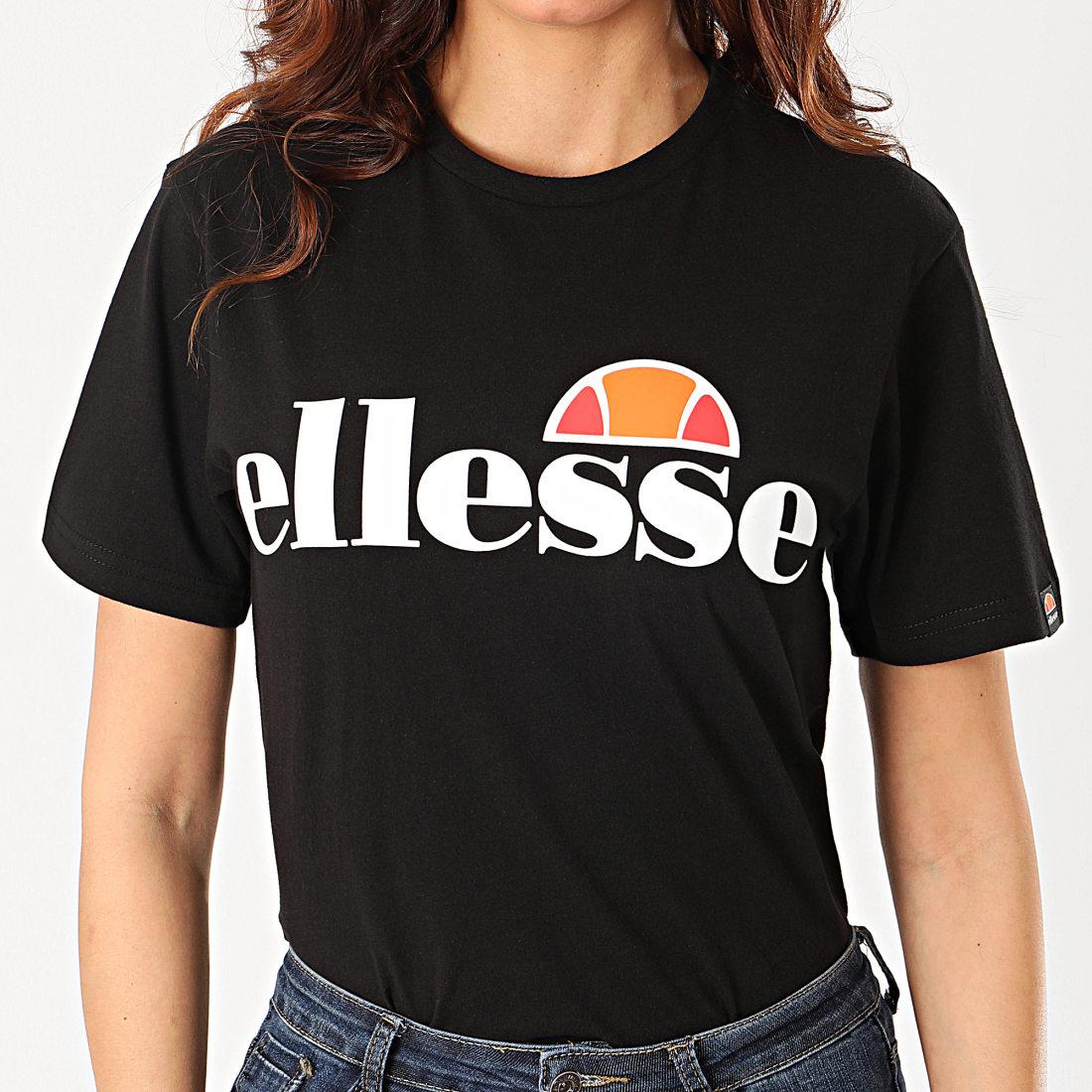 Ellesse Tee Shirt Femme Albany Noir