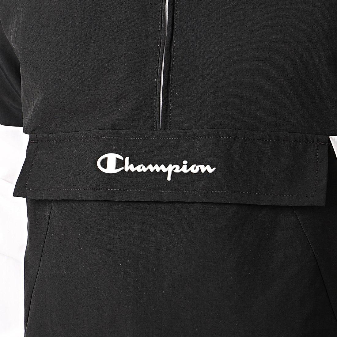 Champion Doudoune Capuche 213676 Bleu Marine