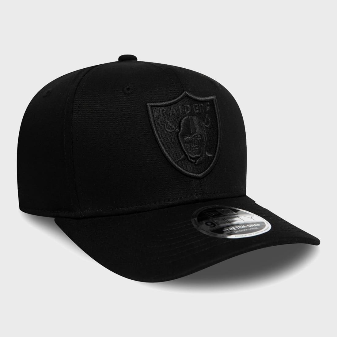 New Era Casquette Snapback 9FIFTY Stretch Snap Oakland Raiders Noir