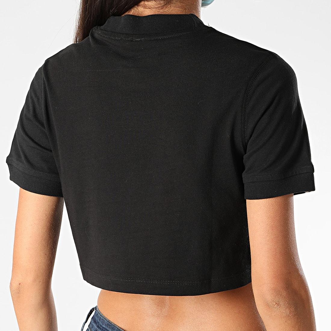 adidas Tee Shirt Femme Crop FM2517 Noir