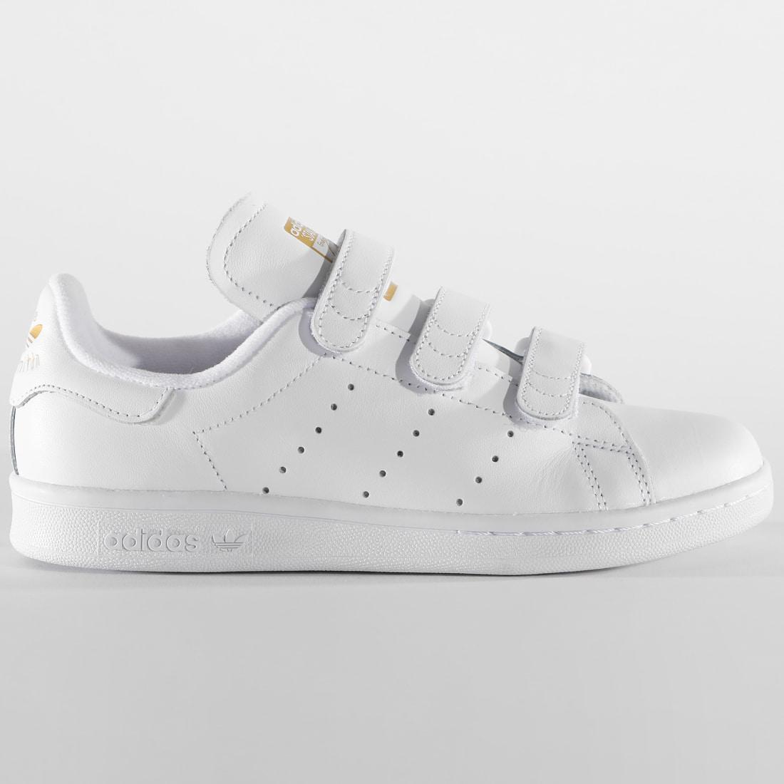 Adidas Stan Smith CF chaussures 5,0 white/white/gold