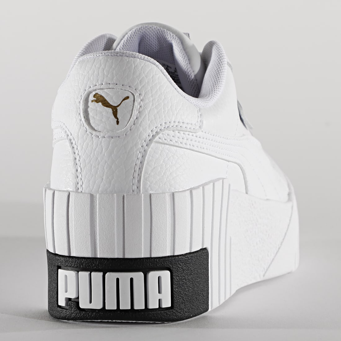 Puma Baskets Femme Cali Wedge 373438 Puma White Puma Black